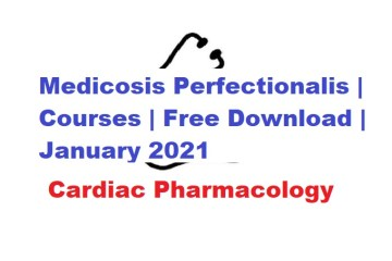 Medicosis Perfectionalis Cardiac Pharmacoology Free Download