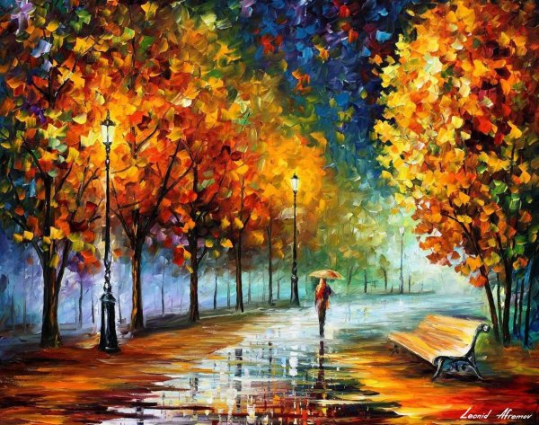 Fall Landscape Famous Oil Paintings