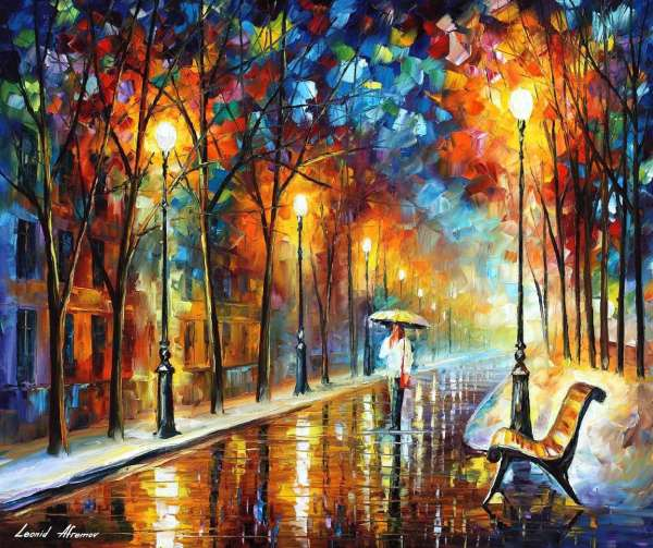 Famous Oil Paintings by Leonid Afremov