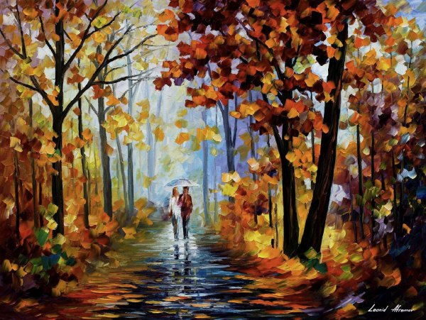 Famous Palette Knife Paintings