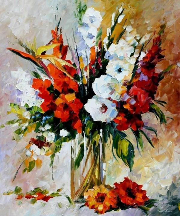 Flowers Oil Painting Artist