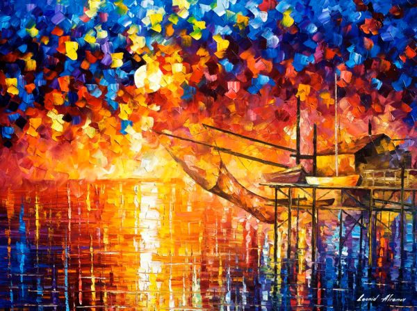 Palette Knife Oil Painting