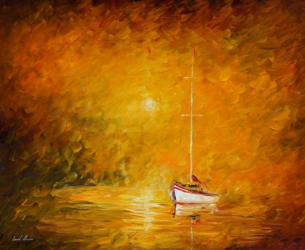 Leonid Afremov Oil Canvas Palette Knife Original Paintings Art Famous Artist