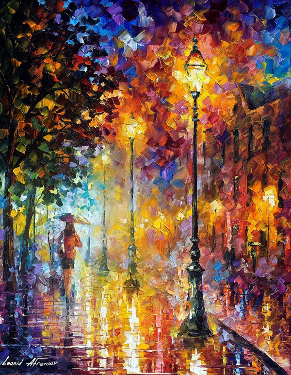 Dream Palette Knife Oil Painting Canvas Leonid