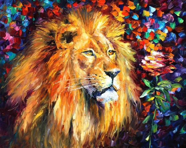 Lion Paintings On Canvas