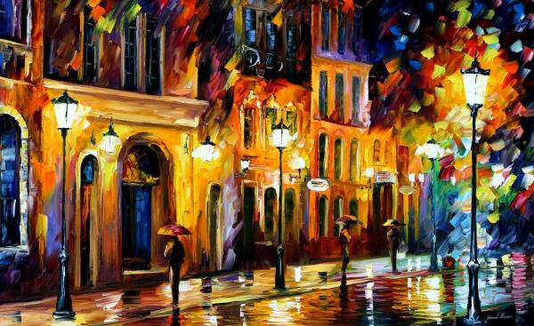 City Paintings On Canvas