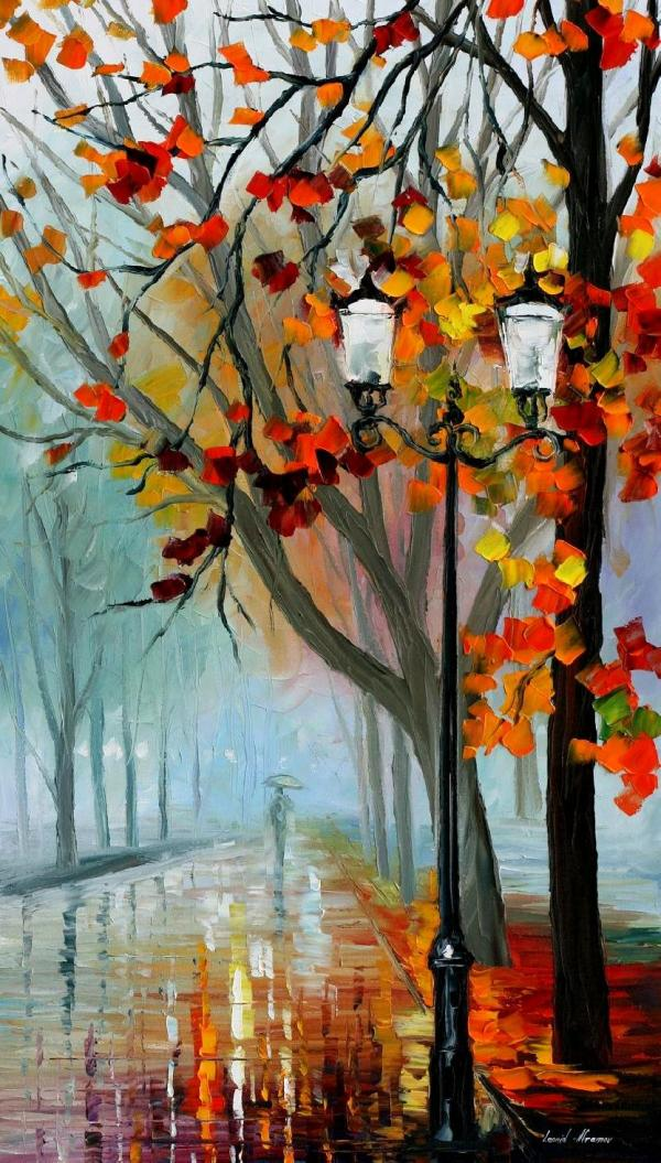 Fall Paintings On Canvas Art