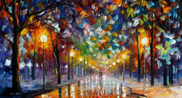 Leonid Afremov Famous Art Paintings