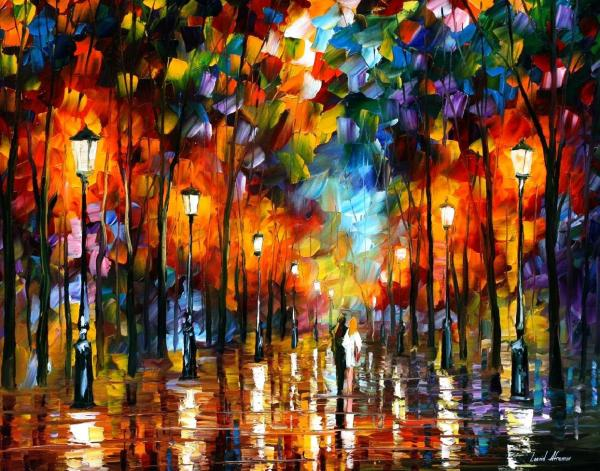 Famous Paintings by Leonid Afremov