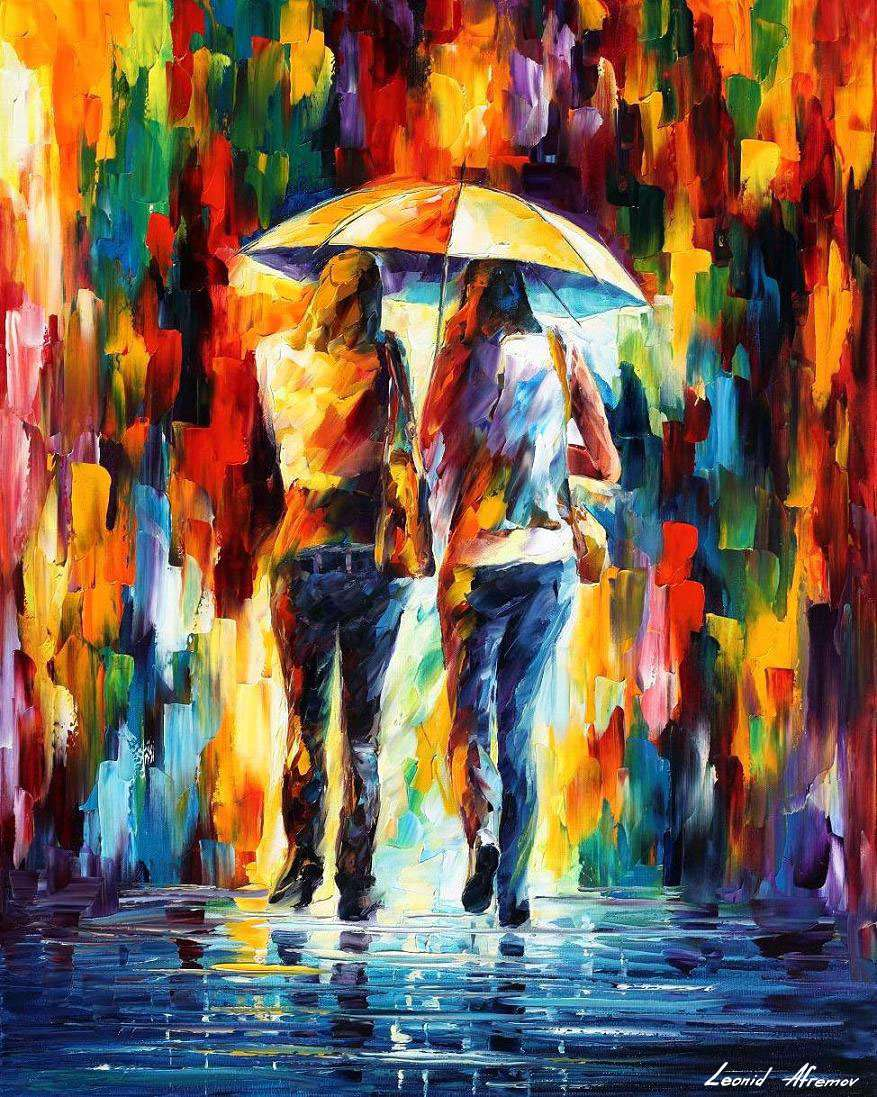 Best Canvas For Oil Painting : canvas, painting, FRIENDS, UNDER