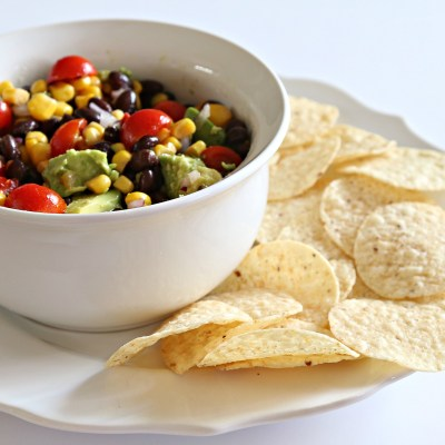 BLACK BEAN AND CORN SALSA: A RECIPE