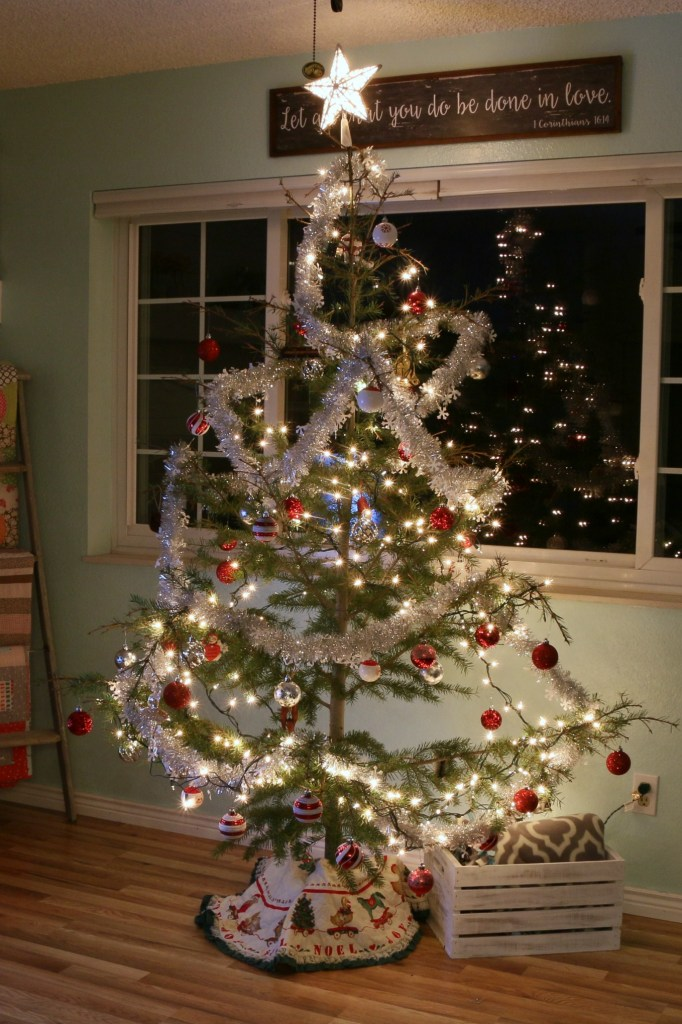 Our Christmas Tree: Charlie Brown Style