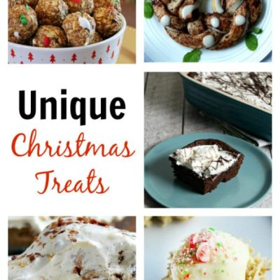 UNIQUE CHRISTMAS TREATS + LINK PARTY 179