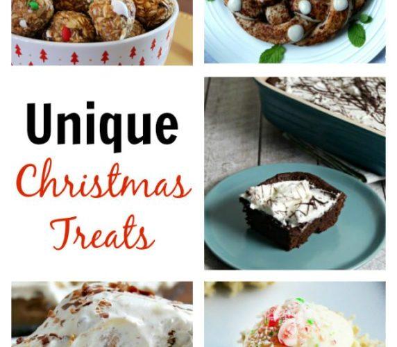 UNIQUE CHRISTMAS TREATS + LINK PARTY 179