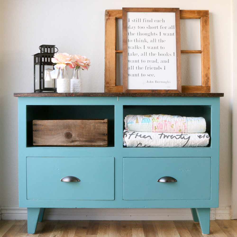 dresser makeover by a fresh squeezed life