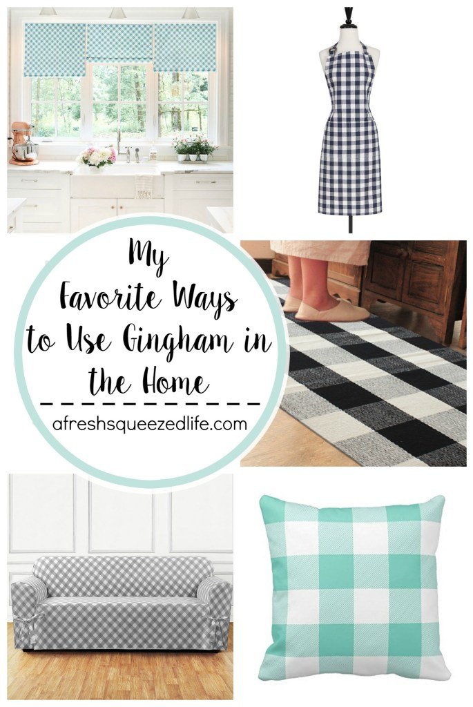 Since spring is here I am changing things up and adding fresh gingham home decor to my space! Let me show you my ways to decorate with gingham!