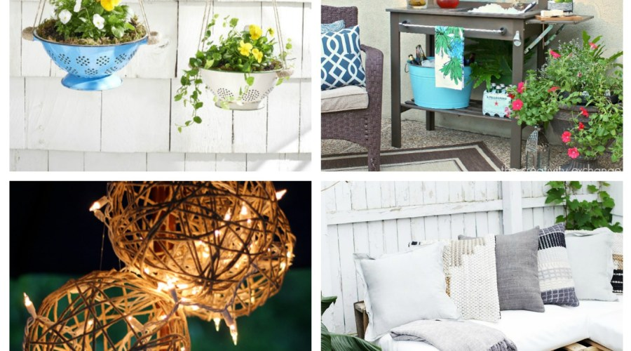 AWESOME DIY BACKYARD DECOR