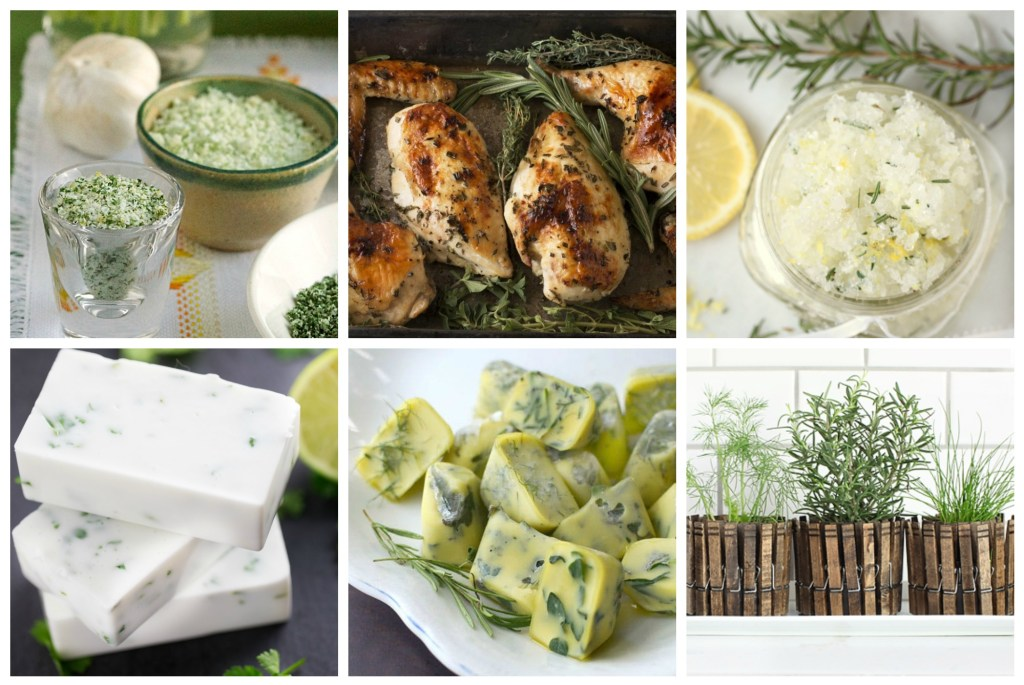 Fresh herbs are tasty, aromatic, and so beautiful! Let me show you how to use fresh herbs in your home for both cooking and scenting. AWESOME WAYS TO USE FRESH HERBS IN YOUR HOME