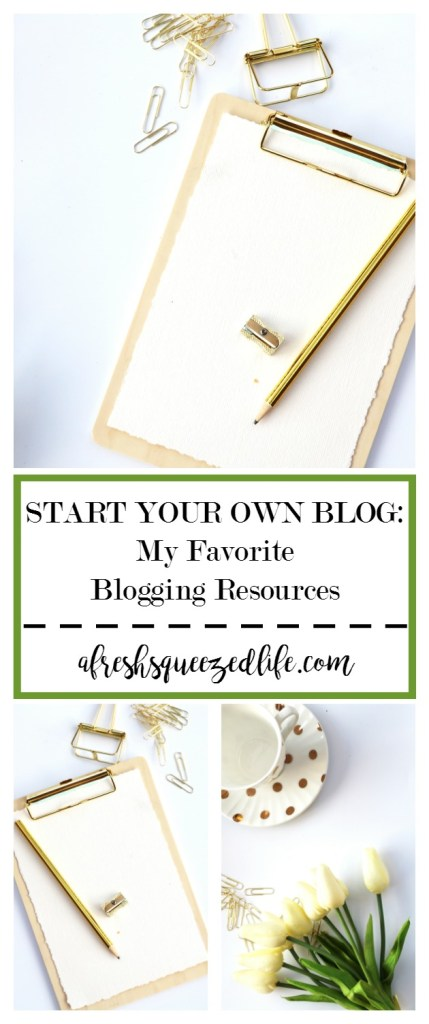 Blogging is a fun hobby, but it can also turn into a full time income! Let me show you my favorite blogging resources to get you started! My Favorite Blogging Resources