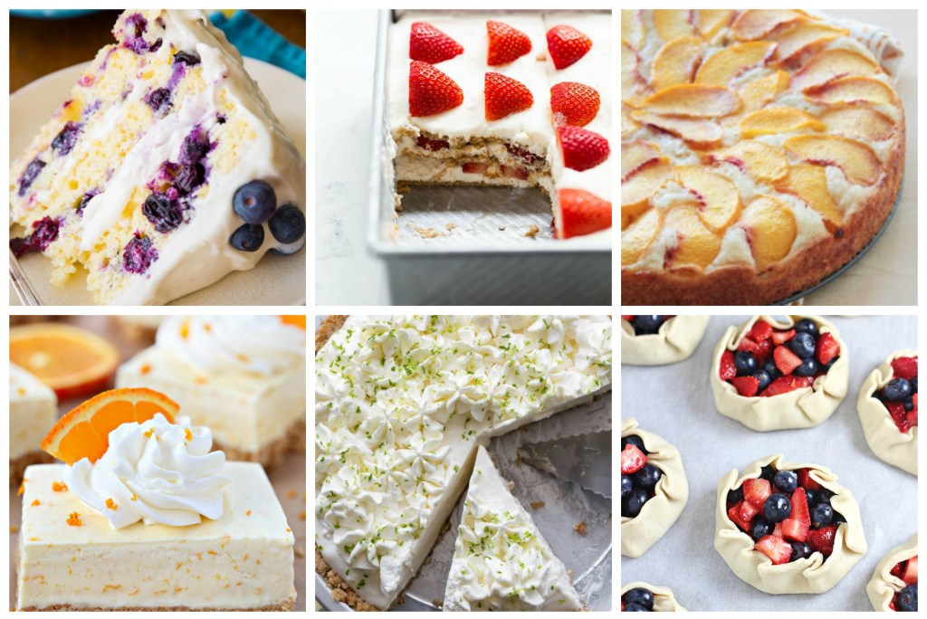 Summertime is here! That always means BBQs and friends and desserts! Let me share some of the best summer dessert recipes I could find! OH-SO-YUMMY SUMMER DESSERT RECIPES