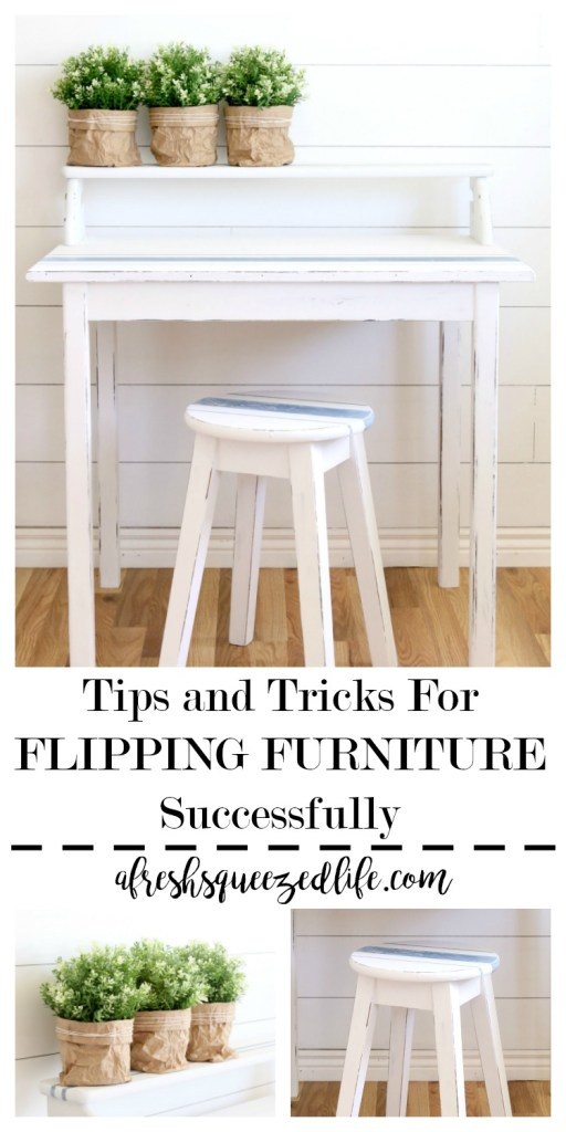 Repurposing furniture can be fun, but it can also be overwhelming. Let me share my best tips and tricks for flipping furniture. TIPS AND TRICKS FOR FLIPPING FURNITURE