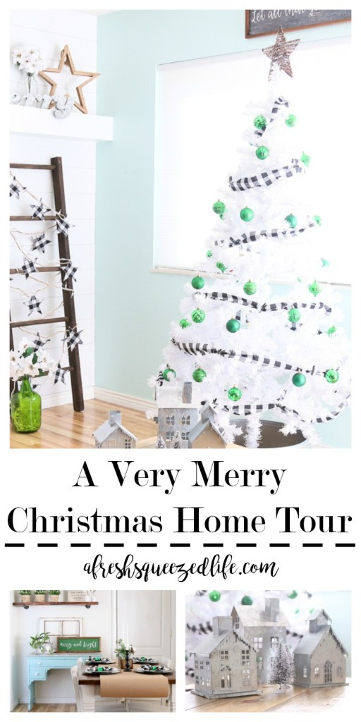 Welcome to A VERY MERRY CHRISTMAS HOME TOUR! Sit back and enjoy 30 creative bloggers and their take on Christmas decorating! A VERY MERRY CHRISTMAS HOME TOUR