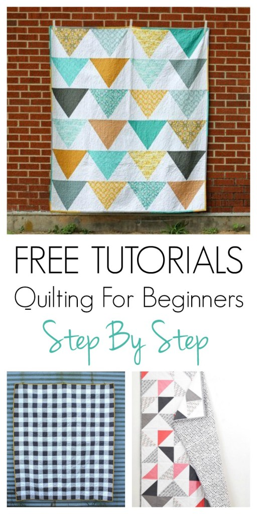 Want to learn to quilt? I have put together a inspirational list of DIY quilting tutorials designed with beginners in mind. These projects will help you learn the basics and craft a beautiful quilt for your home decor using fat quarters or yardage. Gather your supplies, pick a step by step pattern and get to sewing!
