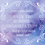 Back to school Organization Series Week One (kitchen cabinets and drawers)