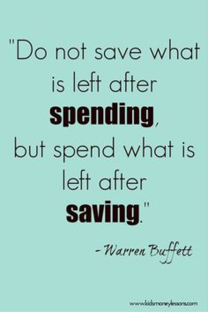 Savings quote