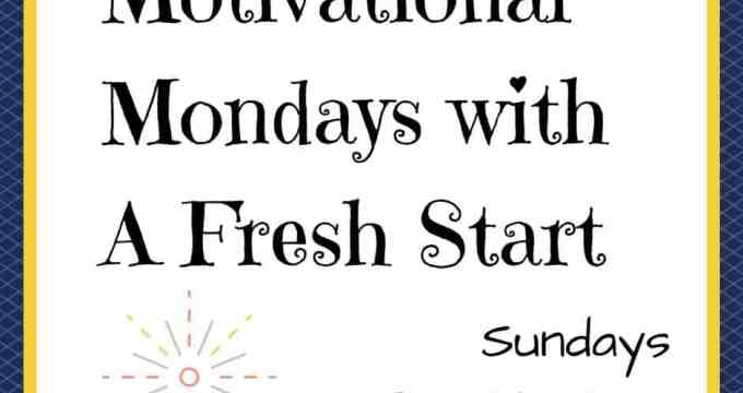 Motivational Monday Blogger Linkup #113