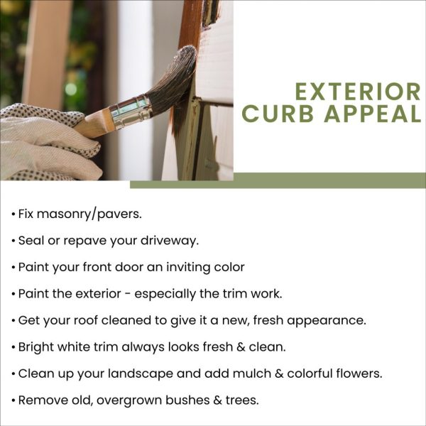 Preparing Your Home For Sale - Exterior Updates - Real Estate Tips