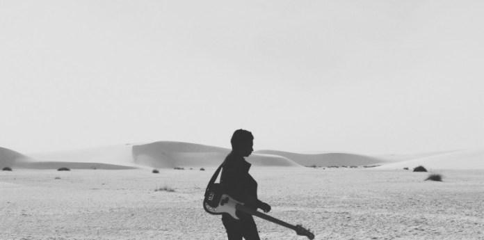 black-and-white-man-person-beach
