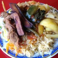 アフリカ人って何食べてるの?格付けルワンダ飯!〜ランチ編とディナー編〜