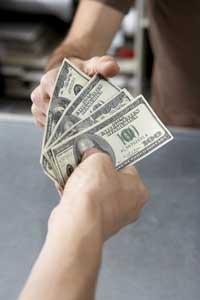 cash tender