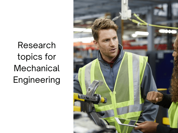 simple research topics for mechanical engineering