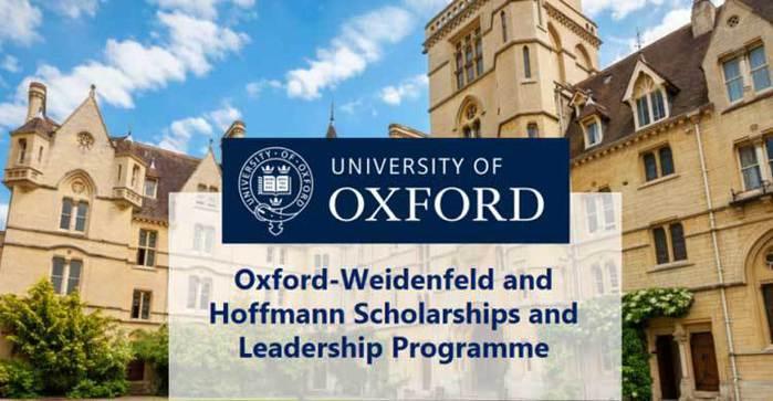 Weidenfeld-Hoffmann Scholarships and Leadership Programme