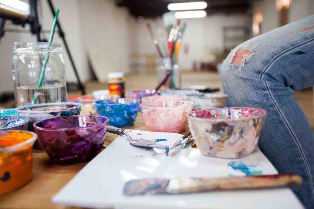 Paints of artist Lorraine Van Wyk