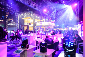 Prolight + Sound exhibition in Dubai