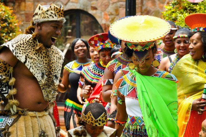 South Africa wedding details