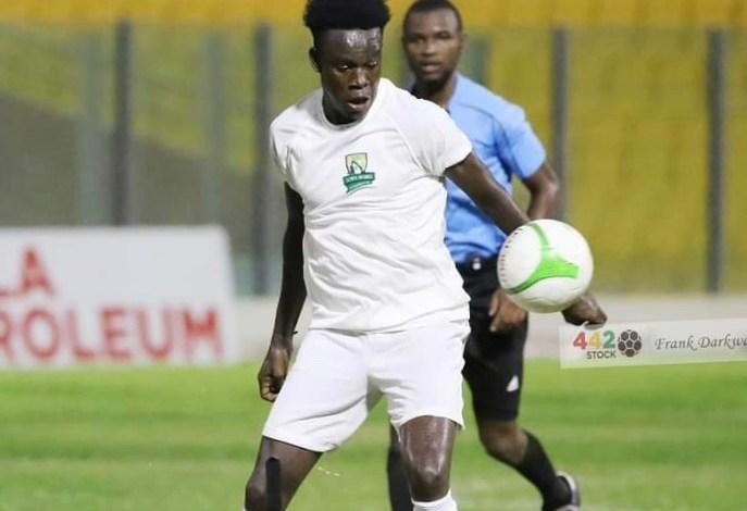 Elmina Sharks forward Benjamin Boateng blames injury for 10 goal failure