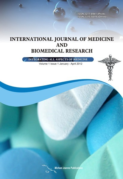 International Journal of Medicine and Biomedical Research