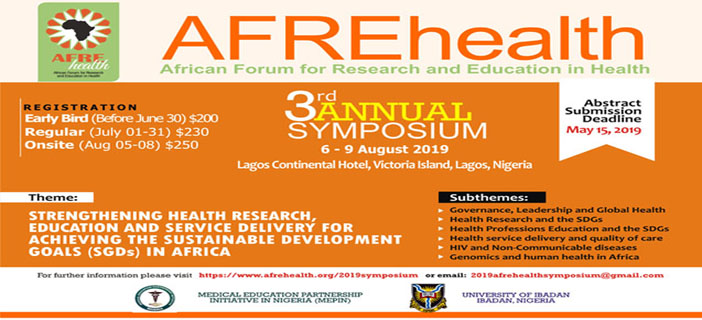 AFREhealth  3rd Annual Symposium
