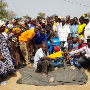 Photo report on small-scale maize shelling machines in northern Ghana