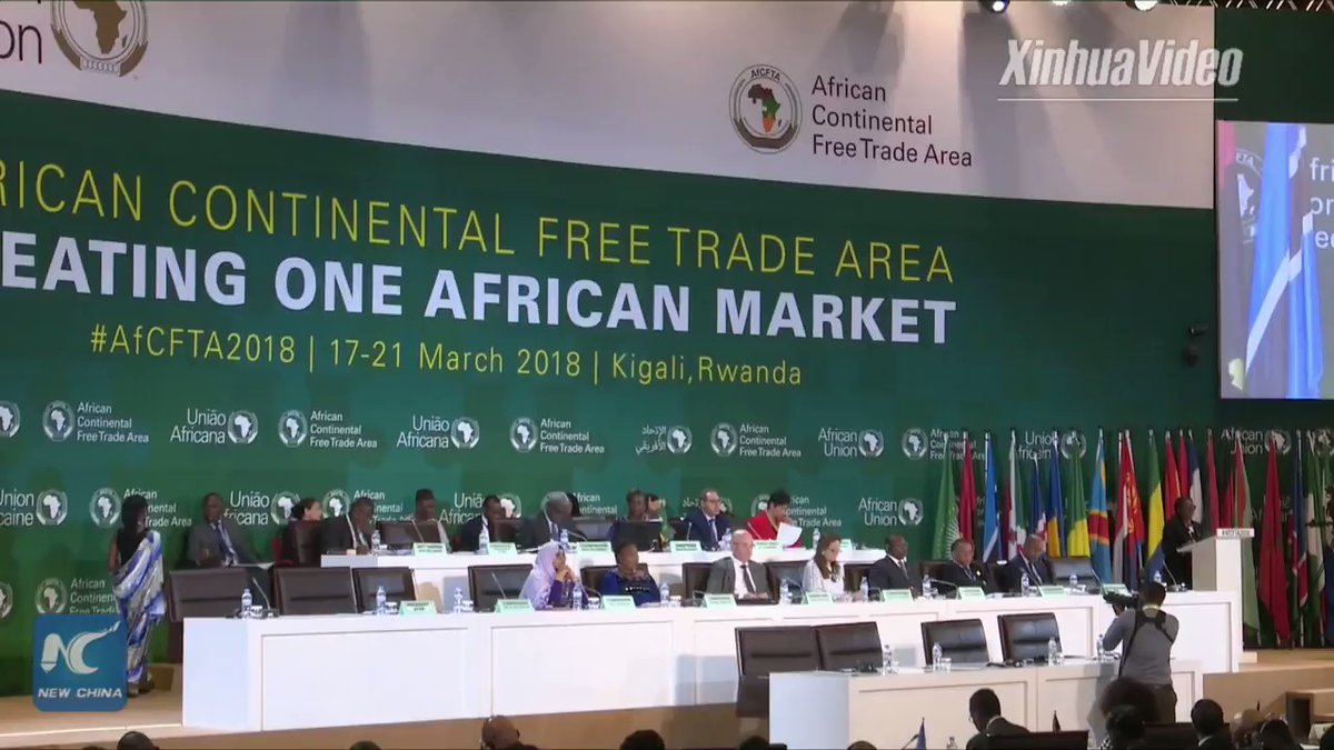 African Continental Free Trade Agreement goes into effect Thursday   CGTN Africa