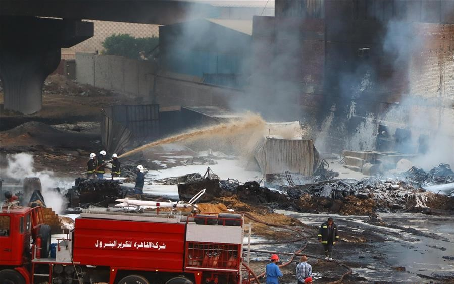 12 injured in oil pipeline fire in Egypt's capital – Amnon Free Press®