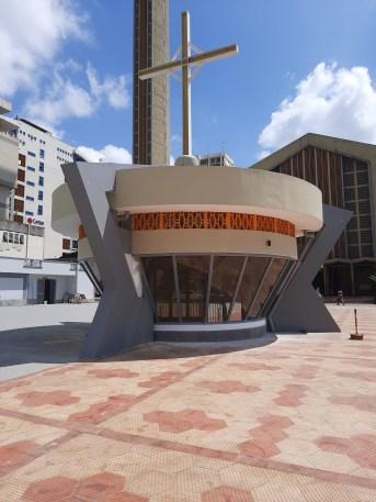 The Holy Family Basilica underground parking silo