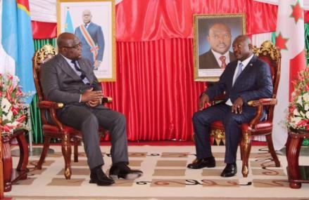 RDC : Après l'étape de Bujumbura,  le Président de la République Félix Tshisekedi est de retour au pays