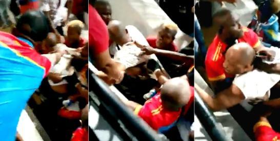 CAN-2019 : un conseiller du ministre congolais de sport, tabassé par les supporteurs congolais entre la vie et la mort