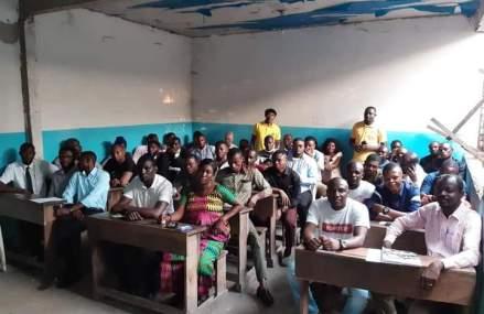 Kinshasa-Limete : Édifiés sur le RAM des leaders des jeunes et mouvements associatifs saluent l'initiative