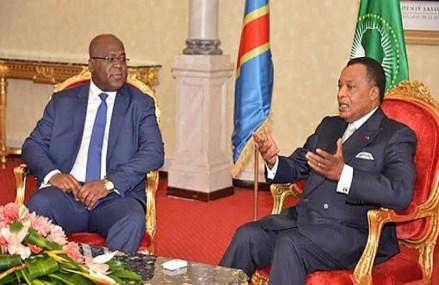 Félix Antoine Tshisekedi Tshilombo à Oyo pour réchauffer les relations Kinshasa-Brazzaville